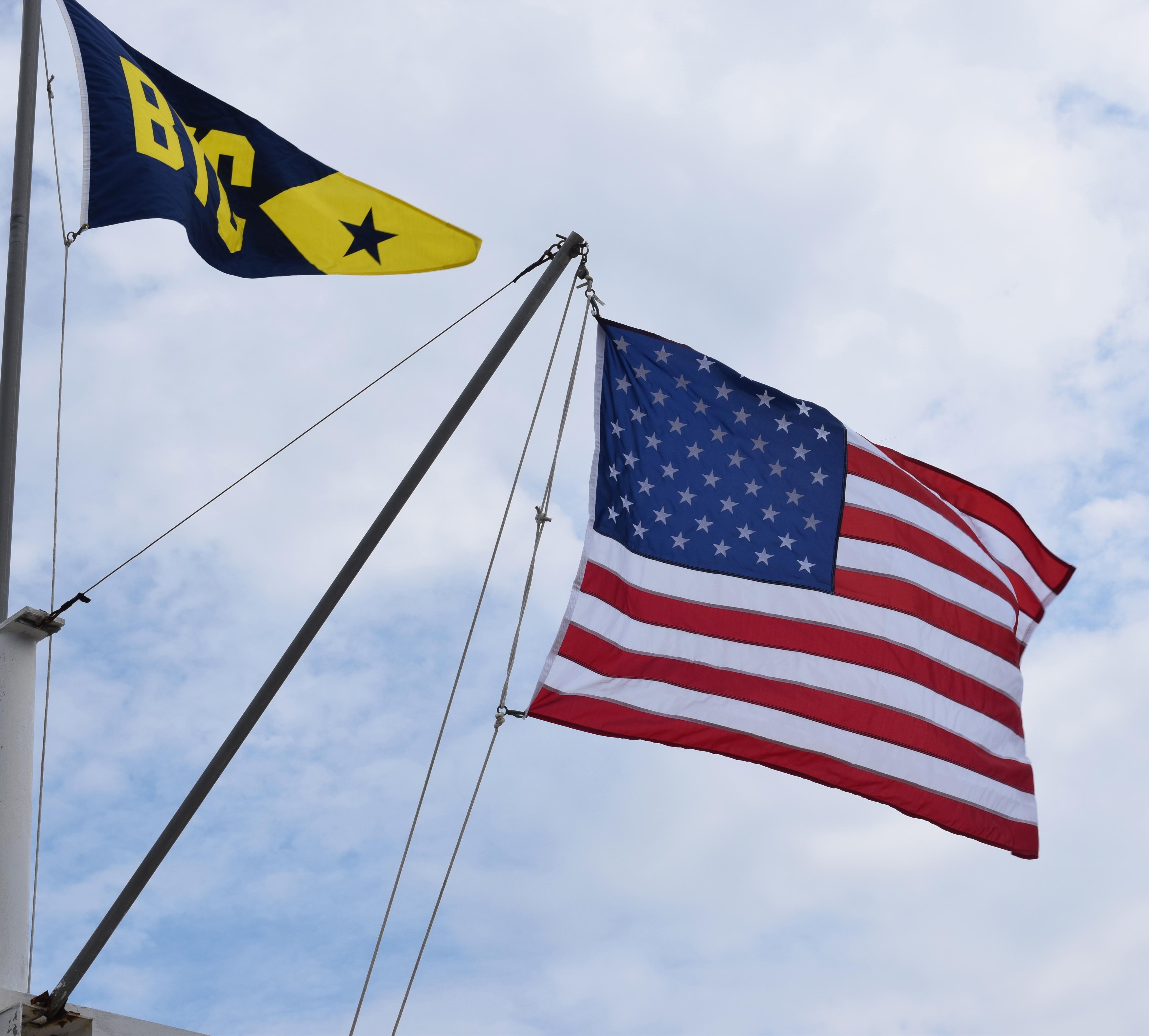 Flag raising 6